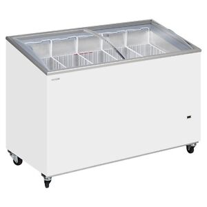 TEFCOLD IC 400SCEB SLIDING LID DISPLAY CHEST FREEZER @ £676 & Vat FREE DELIVERY