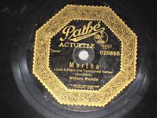PATHE 78 RECORD/ ARTHUR WILSON/ MOTHER IN IRELAND-WILLIAM RUNDLE/MARTHA