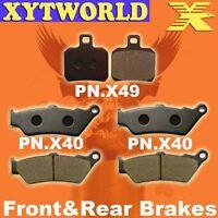 Front Rear Brake Pads APRILIA ETV1000 ETV 1000 2001-08