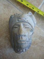 D.Doug Hyde Native American Sculpture Stone Rock Chief Warrior Petroglyph