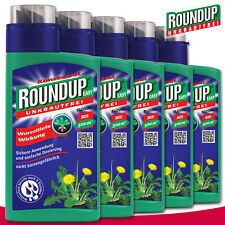 Roundup Unkrautfrei 5 x 500 ml Easy Konzentrat
