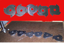 LOT  ROUTER BISCUIT ARBOR / 12 BLADES - WHITESIDE 6710A , BOSH 85609M + ASSORTED