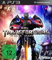 PS3 Spiel - Transformers: Rise of the Dark Spark / The Dark Spark DE/EN mit OVP