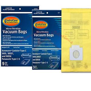 Kenmore Vacuum Bags 5055/50558/50557 Panasonic C-5,  12 Bags