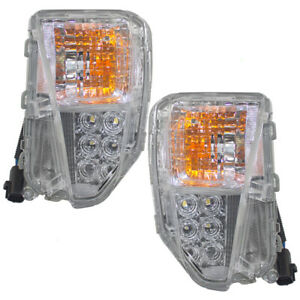 Fits Toyota Prius & Plug-In 12-15 Pair Turn Signal Lights 8152147060 8151147060