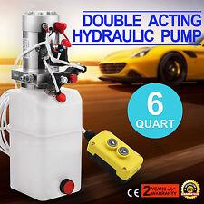 6L Hydraulikaggregat, Hydraulik Pumpe 12 V Doppeltwirkende 2200W Hydraulikpumpe