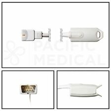 Nellcor Compatible OxiMax DS100A SpO2 Hard Shell Adult Finger Sensor 3' Cable
