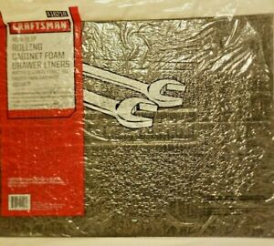 """Craftsman Bottom Chest Toolbox Foam Drawer Liners 5 Count - 22.12"""" x 16.38"""""""