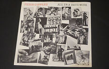 """Peter Cupples (Stylus) - All In A Days Work 45 7"""" Astor A7332 Pic Sleeve 1981 NM"""