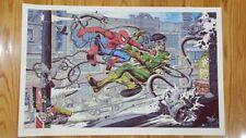 Spider-Man vs. Doctor Octopus Screen Print/Poster Mike Sutfin Variant Mondo