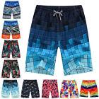 Men Boardshorts Surf Board Shorts Swimwear Sports Casual Beach Pants Trunks USA