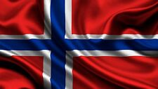 NORWAY Flag Norwegian Kindom Flags 3x5 FT European Country National wall sticker