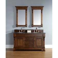 James Martin Brookfield 60' double Cabinet, Country Oak - 147-114-5671
