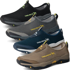 Men's Hiking Boots Trainers Sports Running Shoes Outdoor Casual Walking Shoes UK