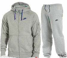 Nike Foundation Mens Full Fleece Tracksuit Hoodie Bottoms Jogging Tracksuit
