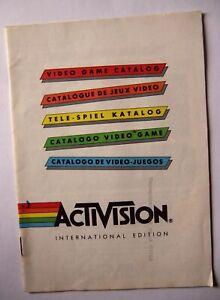 51064 Video Game Catalogue - Activision International Edition - Atari 2600 / 780
