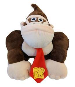 "Donkey Kong Plush 10"" Plush Monkey Gorilla Super Mario Soft Toy Nintendo"