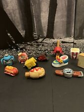 Transformers BOTBOTS Hasbro Mini Figure Lot of 11 Drill Shoe Watch Popcorn Toast
