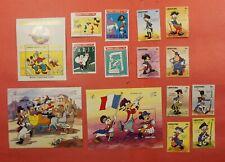 2 Disney Sets + S/S Sierra Leone + Lesotho Mint Never Hinged