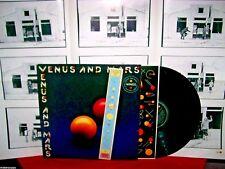 WINGS Venus and Mars (THE BEATLES) LP 1975 AUSTRALIA 1st Press Poster + Sticker