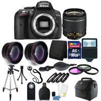 Nikon D5300 Digital SLR Camera with 18-55mm + 16GB Top Accessory Bundle