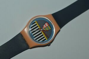 Vintage Swatch Watch LP101 VALKYRIE 1986 Ladies Swiss Quartz Original Plastic