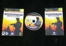 JEU Microsoft XBOX : AMERICA'S ARMY RISE OF A SOLDIER (envoi suivi)