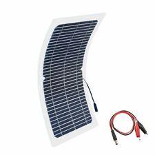 Transparent Solar Panels Semi-flexible Monocrystalline Cell DIY Module Batteries
