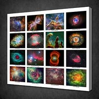 NEBULAE OF UNIVERSE SPACE MODERN CANVAS WALL ART PICTURE PRINT READY TO HANG