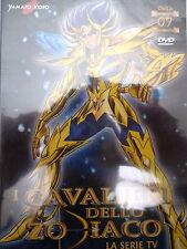 """I CAVALIERI DELLO ZODIACO """"la serie TV""""  n. 9 - DVD 145m ca. - YAMATO VIDEO"""