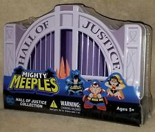 DC COMICS MIGHTY MEEPLES HALL OF JUSTICE COLLECTION BY CRYPTOZOIC ENTERTAINMENT