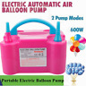 600W Electric Balloon Inflator Pump Two Nozzle High Power Air Blower Portable