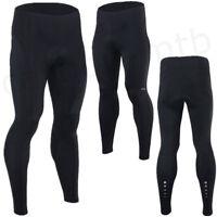 Men Long Cycling Pants Bike Compression Tights Trousers 3D Padded Leggings Pants
