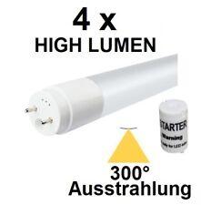 4 x 18 Watt LED-Röhre T8 / G13 120 cm, Kaltweiß, 2380 Lumen = 45 Watt Neonröhre