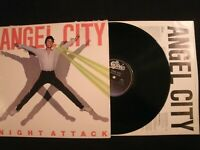 ANGEL CITY – Night Attack - 1981 Vinyl 12'' Lp./ VG+/ Hard Rock Metal