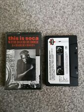 This Is Soca- With David Rudder & Charlie's Roots-1987 Paper Label Cassette Tape