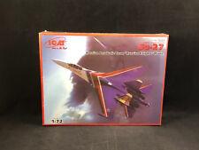 "ICM Su-27 ""Russian Knights"" Aerobatic Team Plane 1:72 Scale Model Kit 72223 NIB"