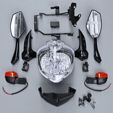 Headlight Set Head Light Assembly For 2007-2010 YAMAHA FZ6S FZ6N Fazer 2009 2008