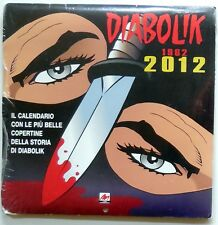 DIABOLIK 1962 2012 CALENDAR Most Beautiful covers prints Editions blisterato