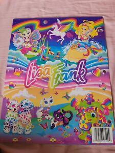 Lisa Frank Folder 2001 collage design cry cool