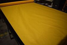 "Golden Yellow 1.9 oz.Nylon Ripstop Fabric 60""W Tent Military Waterproof Coated"