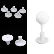 New listing 5 Pieces Rubber Golf Tees Holder For Golf Driving Range Tee Practice Tools