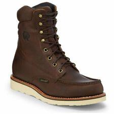 """Chippewa Men's Edge Walker 8"""" Waterproof Moc Toe Wedge Sole Work Boots 25346"""