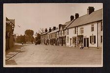 Overton on Dee - High Street - real photographic postcard