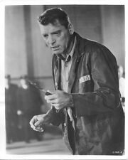 Burt Lancaster original 1962 photo Birdman of Alcatraz with knife snipe verso