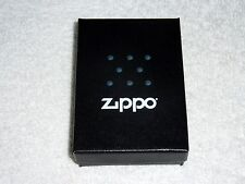 """ORIGINAL ZIPPO LIGHTER """"REGULAR BRUSH FINISH CHROME"""" BRANDNEW #200"""
