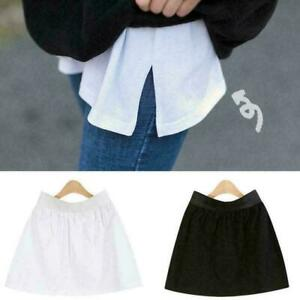 Fashion Hack Fake Top Adjustable Layering Lower Sweep Perfect For Winter Outfit
