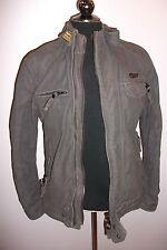 Superdry Zip Cotton Long Coats & Jackets for Men