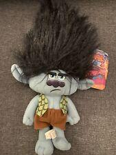 "DreamWorks Trolls Grumpy Branch Plush Large 14"" NEW Stuffed Toy.Licensed. Soft"