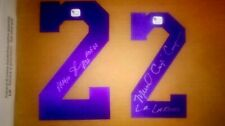 Magic Johnson Signed Lakers Jersey Number HOF Michael Cooper